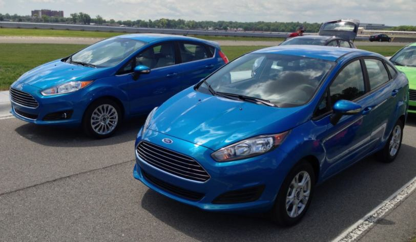 2014 Ford Fiesta/Image by Author