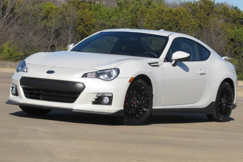 2015 Subaru BRZ Series.Blue/Images by David Goodspeed